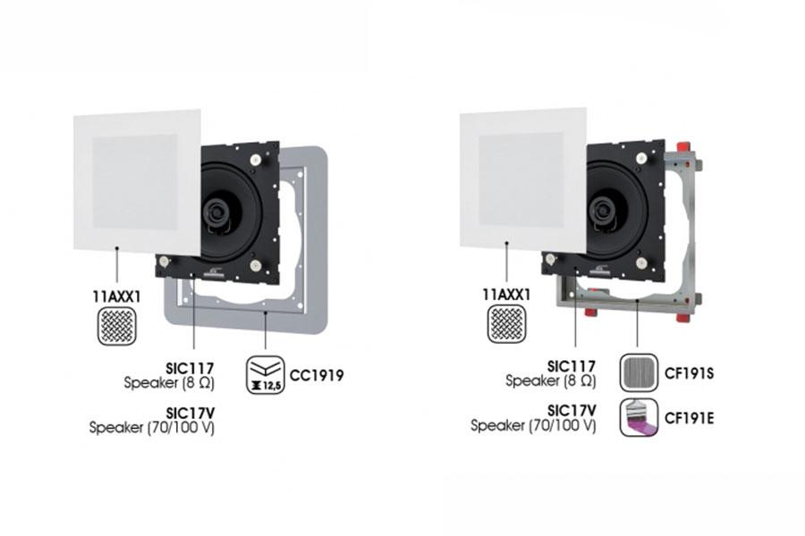 ceiling speaker Garvan SIC117