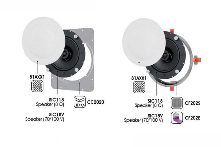 ceiling speakers Garvan SIC118