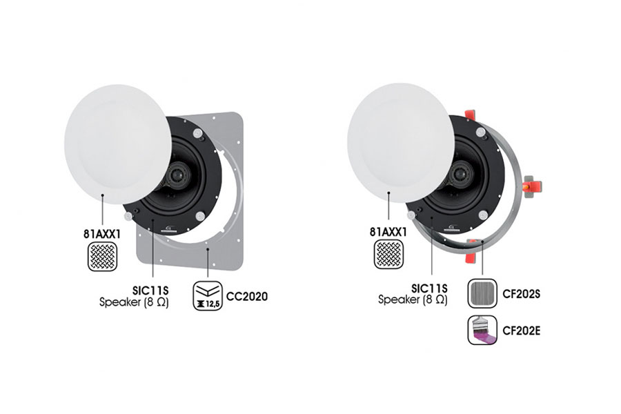 in ceiling speaker Garvan SIC11S