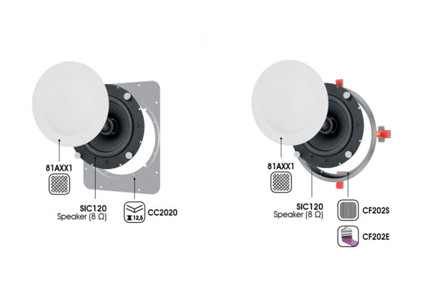 in ceiling speakers Garvan SIC120