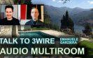In-wall multiroom audio system installation