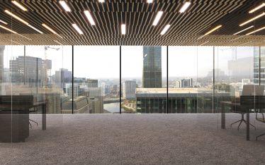 soffitto fonoassorbente Microbaffle™