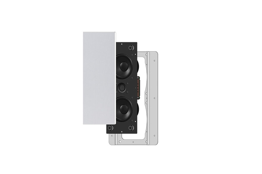 slim in wall speakers Garvan SIC308
